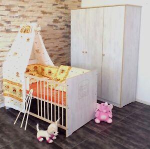 matratze gitterbett babyzimmer komplett set gitterbett 5 farben umbaubar