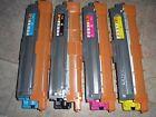 4 Genuine Brother TN221 Color Toner Cartridges HL3140 HL3170 MFC9130 MFC9330CDW