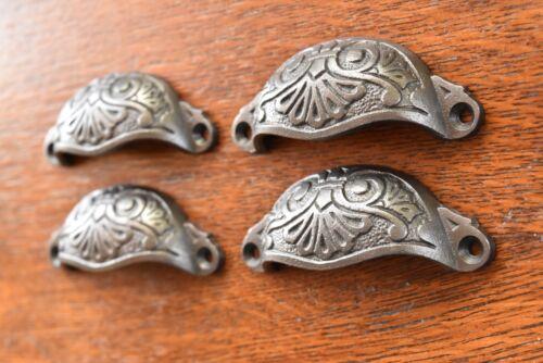 Quatre Style Antique Décorative Tiroir Armoire Poignée Fonte Tirer Commode CH3
