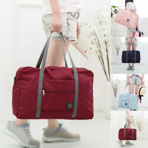 Women-Gym-Sports-Bag-Shoulder-Bag-Hand-Luggage-Duffel-Pack-Travel-Bag