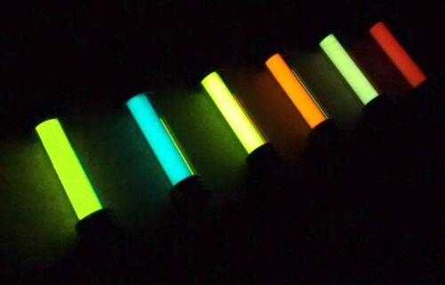 Pure Strontium aluminate!!! Les plus brillants Glow in the Dark Porte-clés Argent peut ACHETER