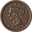 thumbnail 1 - 1849 Large Cent Choice AU+ Superb Eye Appeal Strong Strike