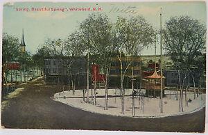 USA-Carte-Postale-AK-Beautiful-Spring-Whitefild-Concord-1912-A2290