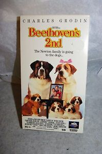 BEETHOVEN'S 2ND VHS ...