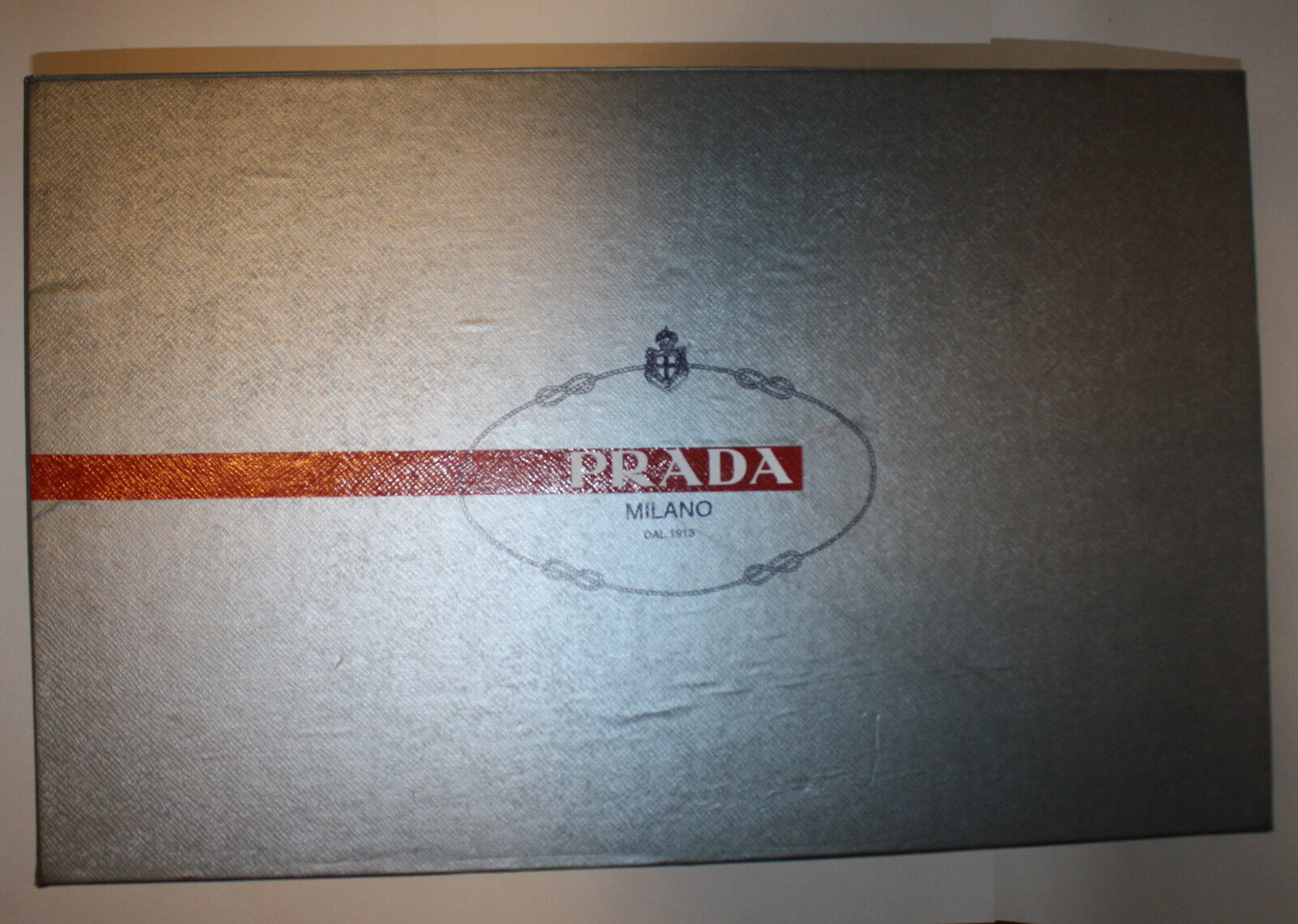 PRADA Sport Empty Boot Box + Logo Tissue Paper Womens 6 7
