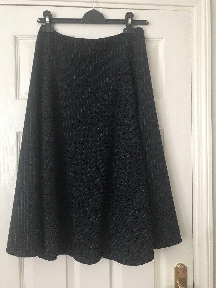 Hobbs Navy Full Skirt - Size 10
