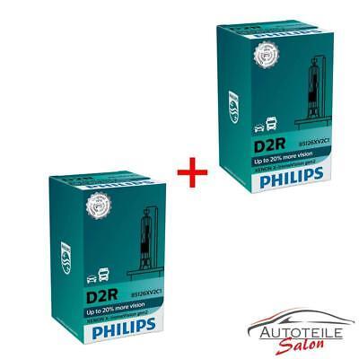 2 x Philips D2R X-treme Vision Xenon Autolampe +150% OE Qualität 85126XV2 F