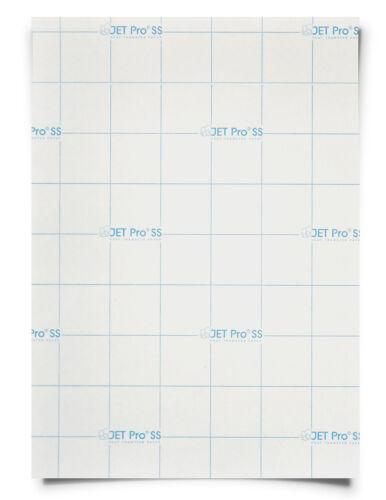 5 SHEETS - JET PRO® Soft Stretch inkjet Heat Transfer Paper 8.5x11 FREE SHIP