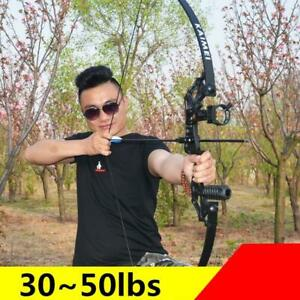 NEW Professional Recurve Bow 30-50 lbs Powerful Hunting Archery Bow Arrow Outdoo