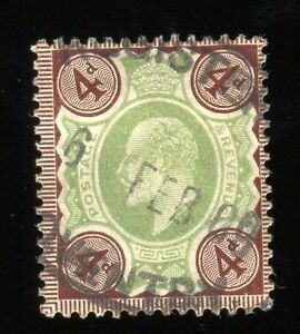 Great Britain #133- King Edward VII--Used-Hinged--1902-11