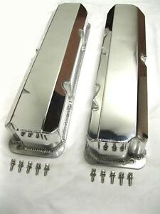 Ford FE Fabricated Anodized Aluminum Tall Valve Covers BBF 332 352 390 427 428