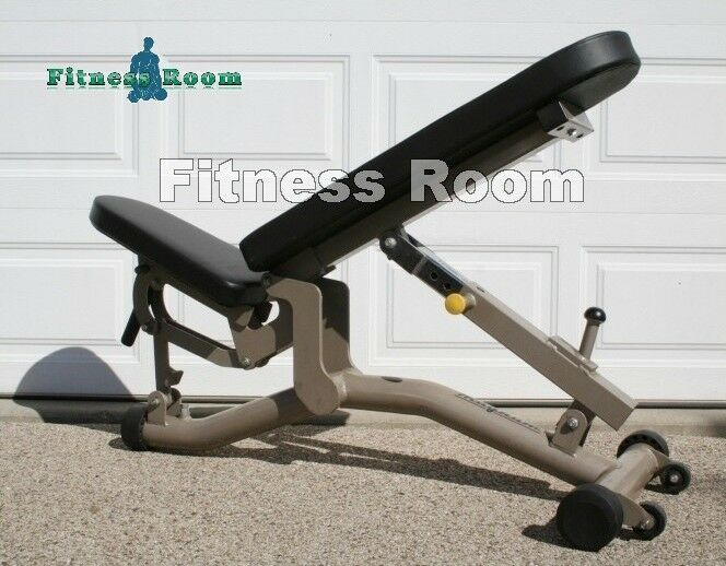 Magnum Matrix Commercial Adjustable Flat   Incline Dumbbell Bench