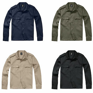 BRANDIT-1-1-LANGARM-US-HEMD-BUNDESWEHR-ARMY-MILITAR-BW-BASIC-SHIRT-WORKER-SAFARI