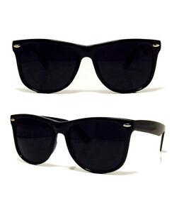 all black wayfarer sunglasses  NEW RETRO BLACK AVIATOR SUNGLASSES DARK SHADES RAVE 80S VINTAGE ...