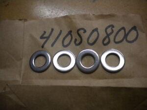 NOS Kawasaki OEM Washer 77-86 JS440 07-12 JT1500 92-98 JH750 410S0800 QTY4