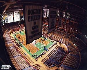 Boston Garden Boston Celtics 8 X 10 Photo AAEF011 zzz