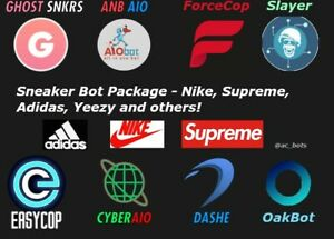 Sneaker-Bot-Pack-Supreme-SNKRS-CyberAIO-Ghost-SNKRS-Dashe-ANB-AIO-Adidas