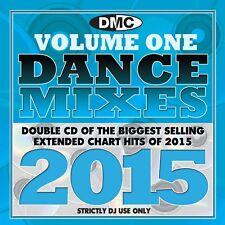 DMC DJ Only Dance Mixes 2015 Vol 1 Dance Music Double CD Set
