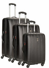 Delsey Luggage Volume Dlx Hardside 3 Piece Nested Spinner Luggage Set