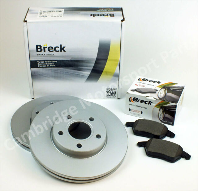 FORD FOCUS 2004-12 Qualità OE 278mm ANTERIORE BRECK PASTIGLIE FRENO & DISCHI Set