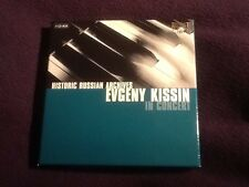 4 Cd Box Set Historic Russian Archives EVGENY KISSIN IN CONCERT Classical Piano