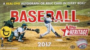 2017-Topps-Heritage-Complete-Your-Set-Pick-20-Cards-From-List-Sku-BM0042