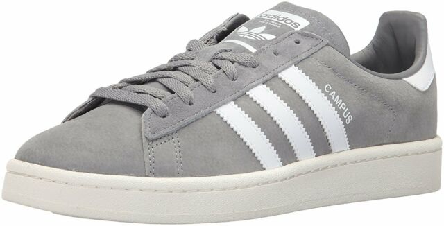 adidas Campus Shoes Mens Grey  Running White 13  eBay