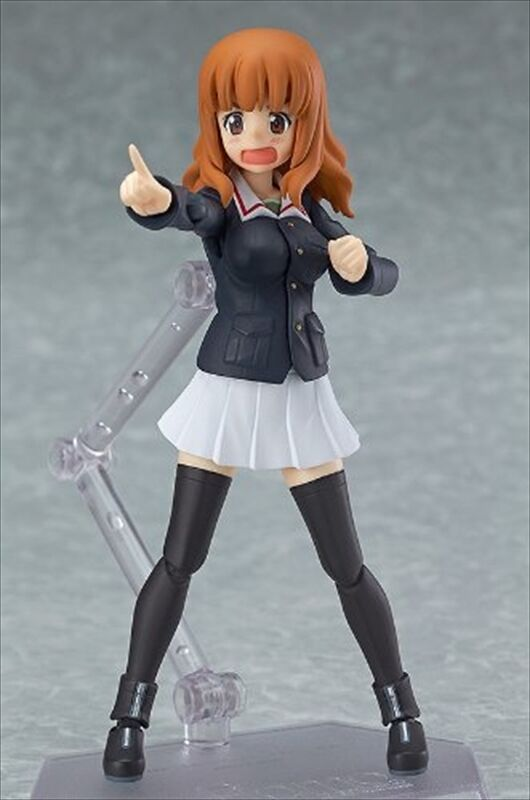 Figma Girls und Panzer Hana Saori Takebe Factory Action Figure MAX Factory Takebe Japan d64951