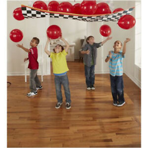 CARS Grand Prix Dream Party BALLOON DROP KIT Birthday Supplies