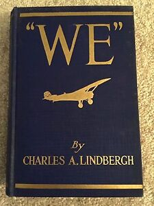 034-WE-034-by-Charles-Lindbergh-First-Edition-Fifth-Impression-July-1927-Aviation