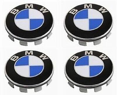 Genuine BMW Wheel Center Hub Cap 68 mm 4 pcs 1 3 5 6 7 X Series 36136783536