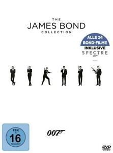 THE-JAMES-BOND-COLLECTION-24-DVDs-incl-Spectre-NEU-OVP