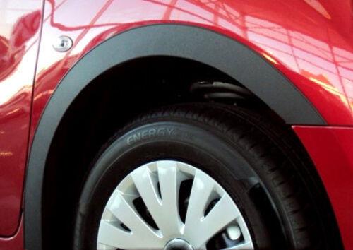 PEUGEOT 206 HB Wheel Arch Trims set new 4 pcs BLACK MATT Wing Quater L/&R /'98-12