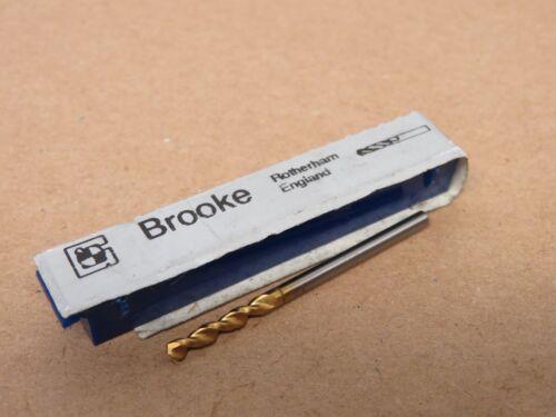 BROOKE HSSCo P.S STUB ADZe L TiN Coated Drill Various Sizes