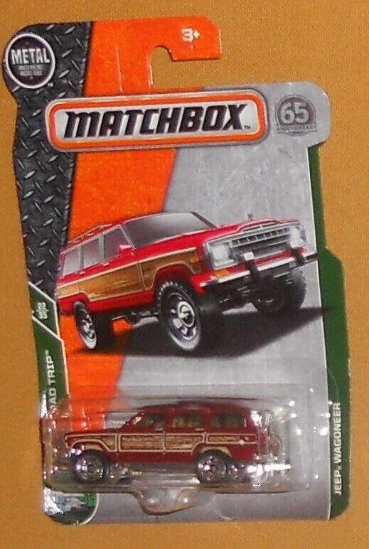 MATCHBOX MBX ROAD TRIP TREASURE HUNT (2)  '89 JEEP GRAND WAGONEERS (MOMC)