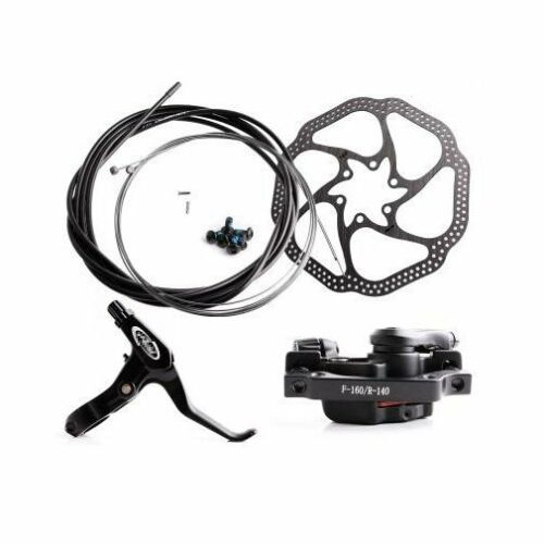 MTB Mountain Bike Disc Brake Calipers Lever Cable Universal fit 51//75mm Adapter