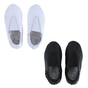 d1d5f96386e6ee KK Children Boys Girls Leather Full Sole Flats Ballet Dance Slippers ...