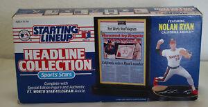 NOLAN RYAN 1993 Baseball Headline Collection Starting Lineup - California Angels