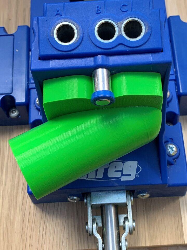 Komplet sugestykke til Kreg K5 / Festool støvsuger,