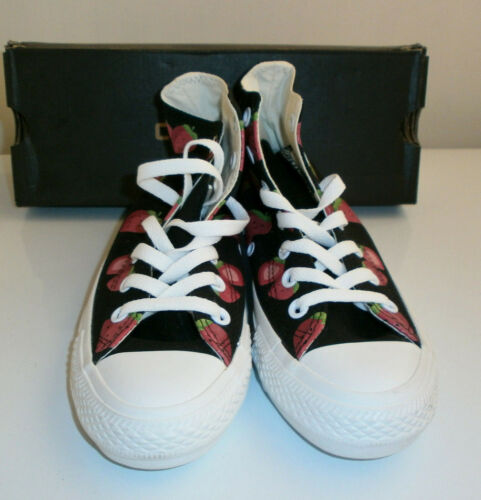 5 3 Boots All Trainers Top Converse Bnib Strawberry Star Hi Strawberries Size pBnOT