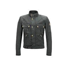 BELSTAFF GANGSTER BLOUSON MAN NERO Giacca Moto Vintage,Motorcycle Vintage Jacket