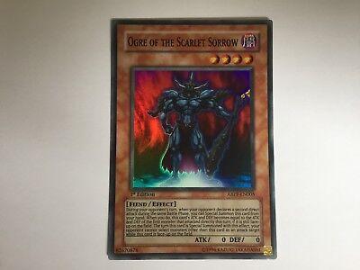 Super Rare YuGiOh Ogre of the Scarlet Sorrow ABPF-EN005 Unlimited Edition