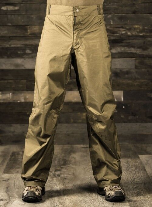Beyond Clothing PCU Level 6 Goretex Rain Pant Goretex Trousers Coyote Brown