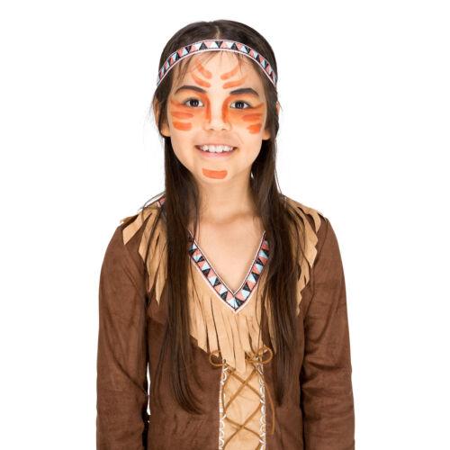 Déguisement pour fille Princesse indienne rouge indien wild west costume enfant