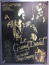 "Le Grand David Poster (18X24"") From The World Record Setting Magic Show Limited"