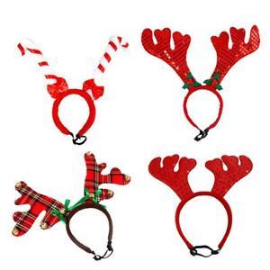 Nikolaus Weihnachten Elch-Geweih Rentier-Geweih Haarreif Licht Glöckchen  wm-20   eBay