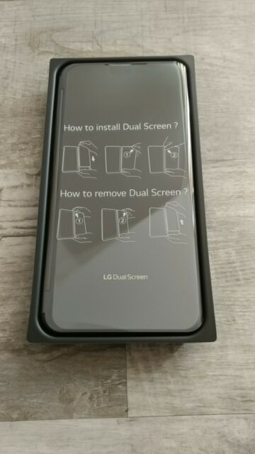 LG Dual Screen Case V60 ThinQ - Black - Second Screen
