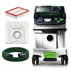 festool staubsauger cleantec ctm 36 e 584000 filter schlauch staubklasse m ebay. Black Bedroom Furniture Sets. Home Design Ideas