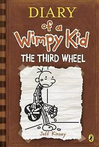Diary-of-a-Wimpy-Kid-The-Third-Wheel-Book-7-Kinney-Jeff-Very-Good-Book