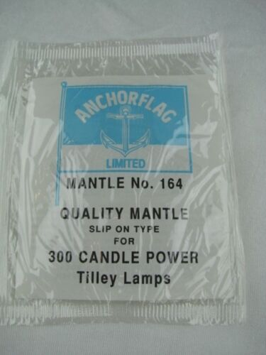 INSTRUCTIONS 3 X ANCHORFLAG MANTLE FOR 300 CANDLE POWER TILLEY LAMP No 164